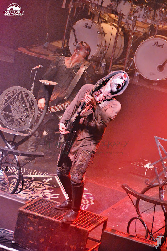 Behemoth @La Cigale, Paris 09/02/2016