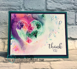 Pigment Sprinkles 3 Ways with the Modern Heart Stamp Set by Stampin' Up!