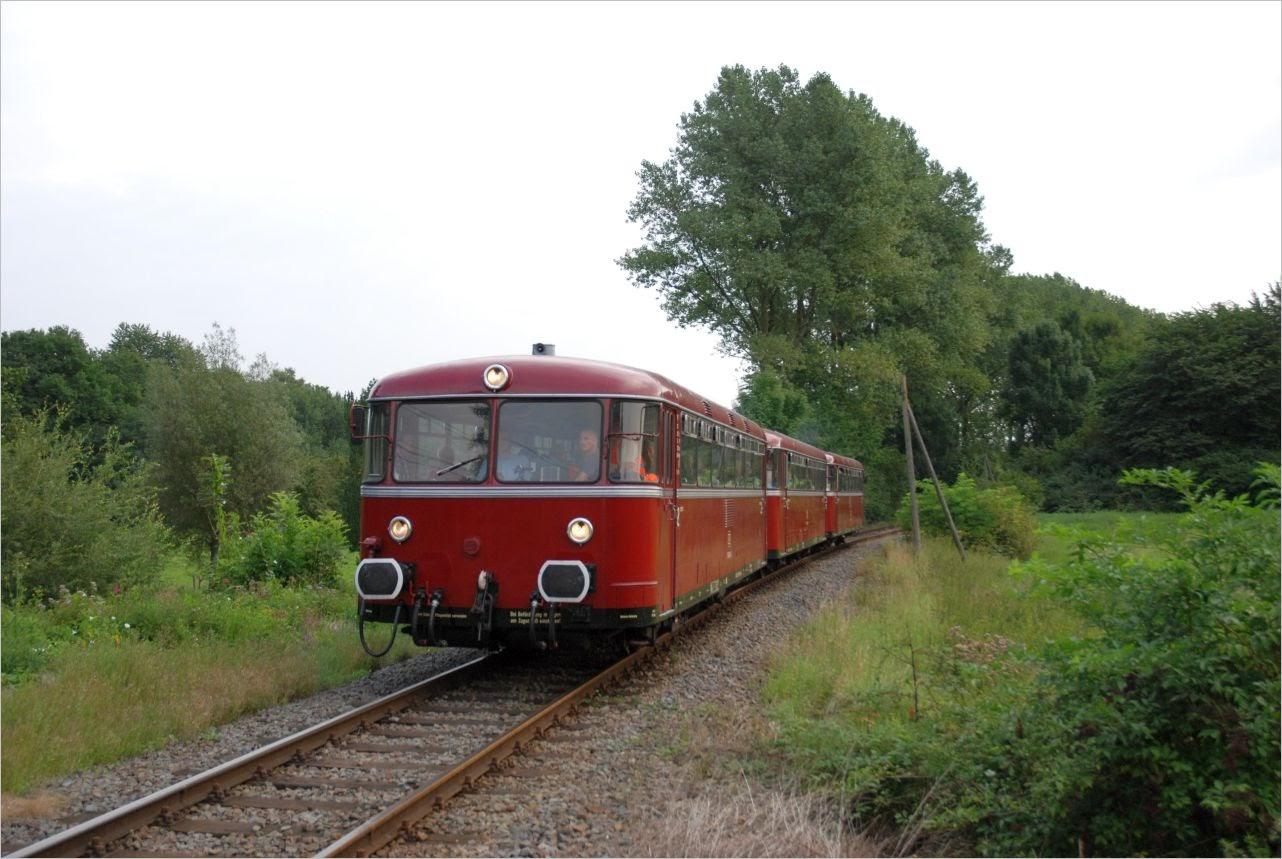 VT-Garnitur der Eifelbahn in Gevelsberg-Vogelsang