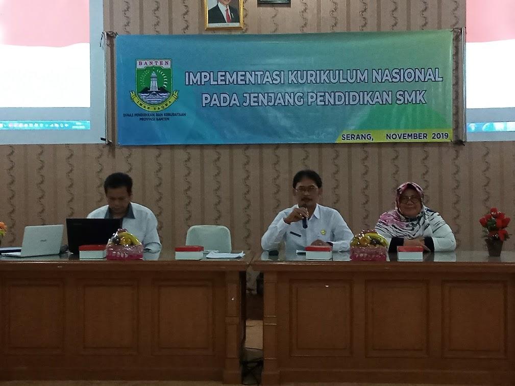 Implementasi Kurikulum Nasional pada jenjang pendidikan kejuruan