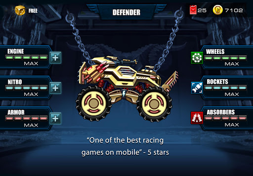 Mad Truck Challenge Racing Hack Full Tiền Vàng Cho Android