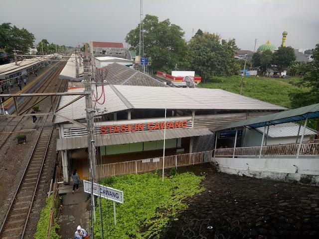Stasiun KRL Cawang