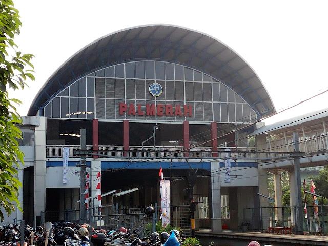 Stasiun Kereta KRL Palmerah