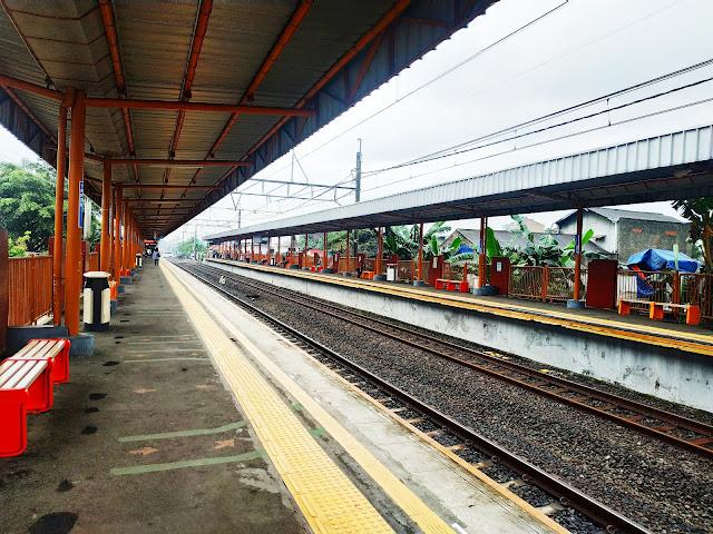 Stasiun Kereta KRL Taman Kota, Tangerang
