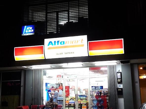 Alfamart Alam Sutera Tangerang