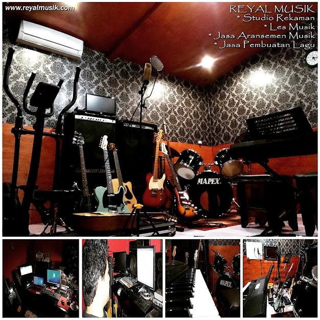 studio rekaman, kursus / les musik, jasa aransemen musik, jasa pembuatan lagu
