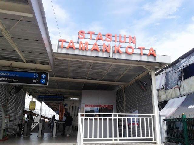 Stasiun KRL Taman Kota Tangerang