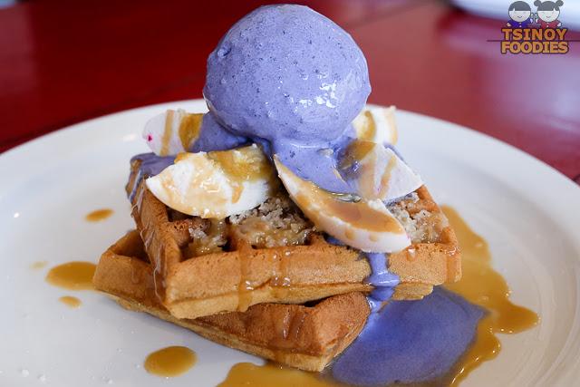 bibingka waffle ala mode