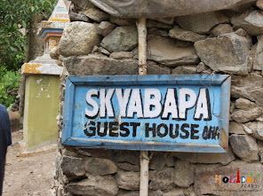 Skybapa Guest House in Dah Village