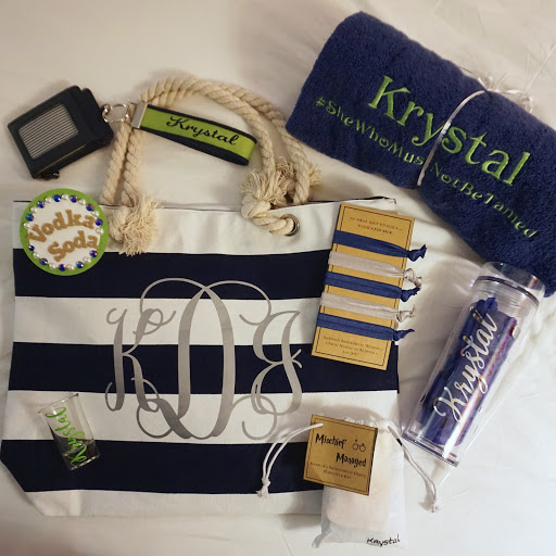 harry potter themed bachelorette party universal studios wizarding world of harry potter curated bridesmaid gift bag