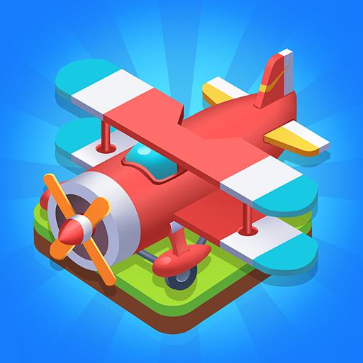 Merge Plane Click & Idle Tycoon v1.13.5 Mod