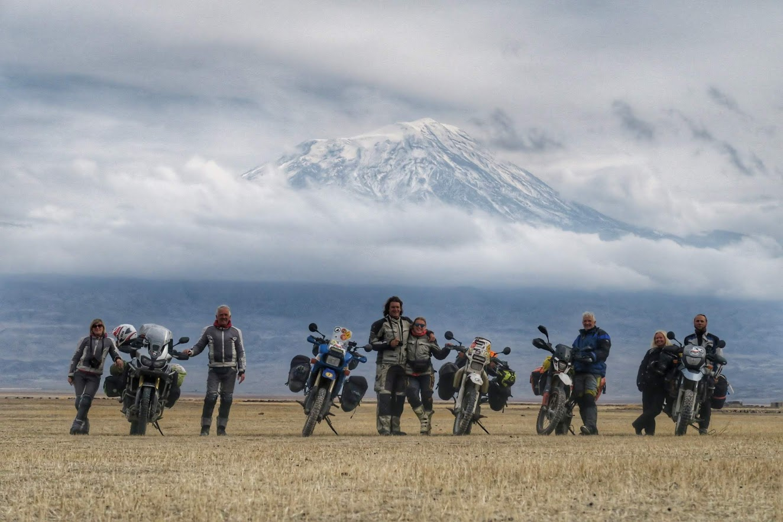 motocyklem do Turcji