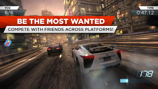 Need for Speed Most Wanted V1.3.128 MOD + APK + OBB Unlimited Money Unlocked For Android
