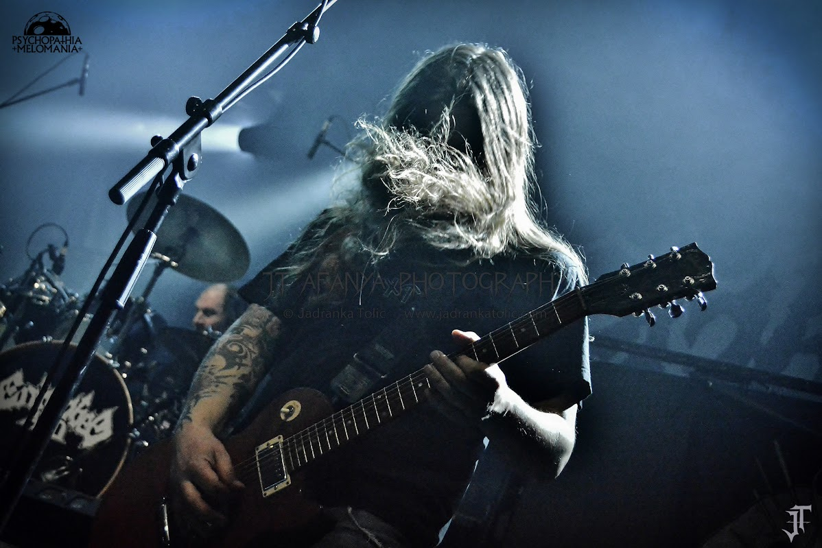 Entombed A.D. @La Cigale, Paris 09/02/2016