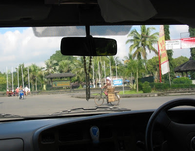 Fahrt durch Yogyakarta
