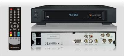 Azamerica S808 Atualização