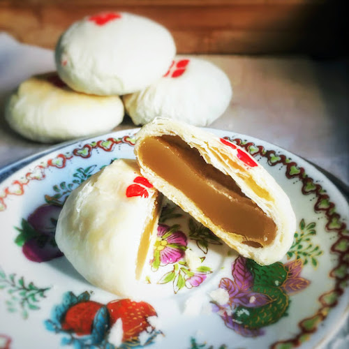 Chinese Flaky Pastry,Lotus Seed Paste,chinese,recipe,flaky pastry,白蓮蓉,酥餅,Huaiyang Flaky Pastry, 淮揚酥皮, dessert
