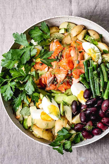 Roasted Salmon Nicoise Salad | Photo Courtesy of Foolproof Living