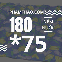 Nem nuoc Ngoc Thao 1m8x75cm