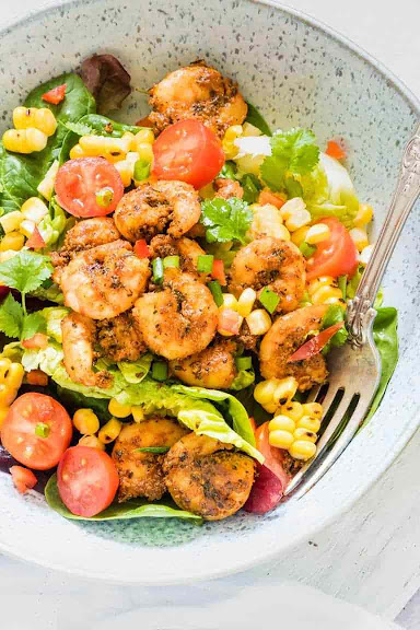 Cajun Shrimp Salad | Photo Courtesy of Recipes From A Pantry