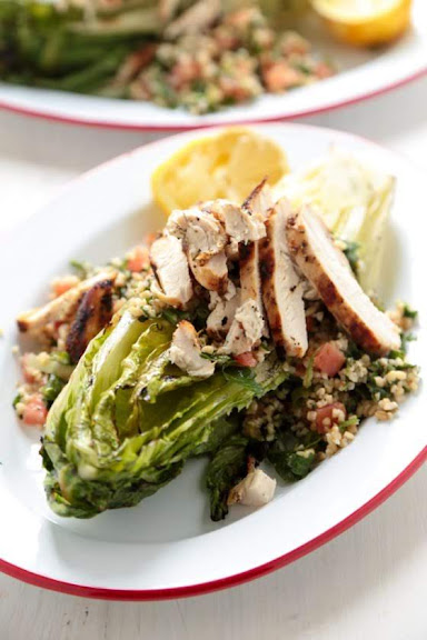 Grilled Chicken Caesar Tabbouleh Salad | Photo Courtesy of Country Cleaver