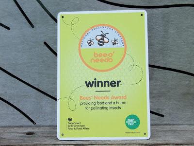 DEFRA Bees Needs Award