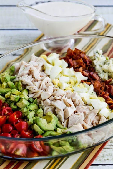 Lettuce-Free Keto Cobb Salad | Photo Courtesy of Kalyn's Kitchen