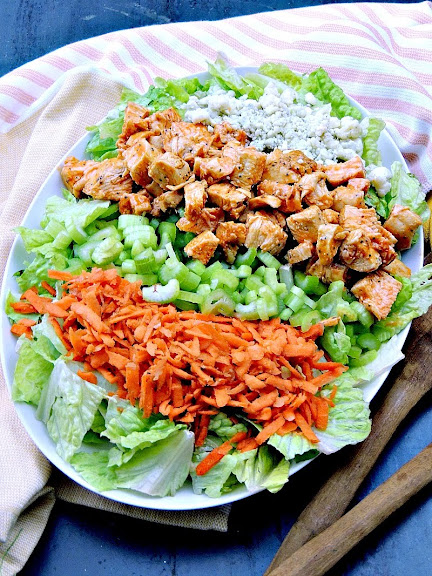Buffalo Chicken Chopped Salad | Photo Courtesy of Bobbi's Kozy Kitchen
