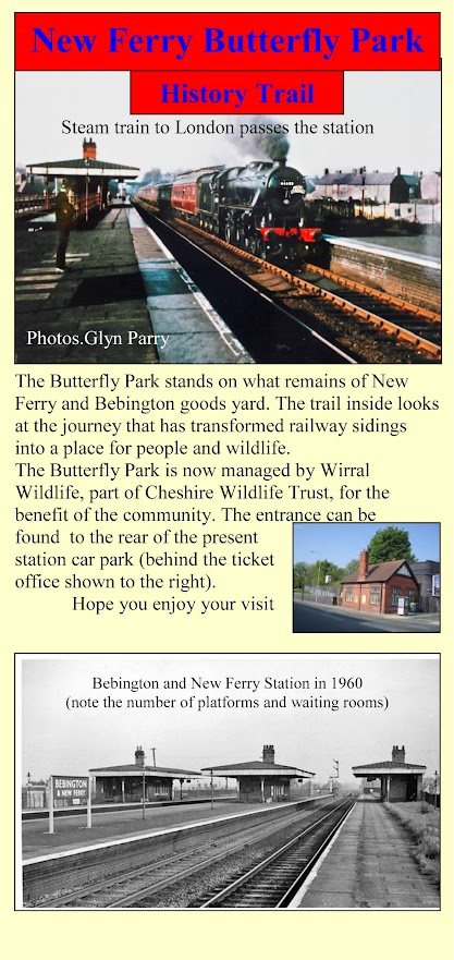 New Ferry Butterfly Park history trail leaflet