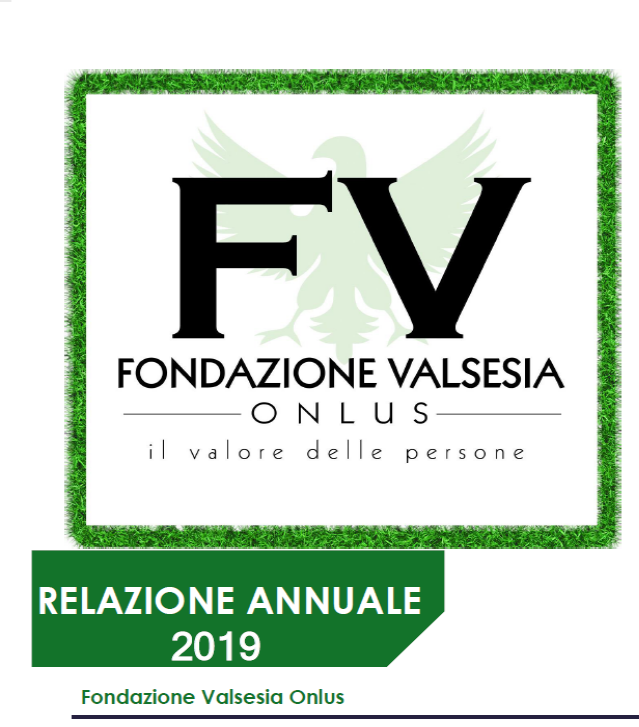 Relazione annuale 2019