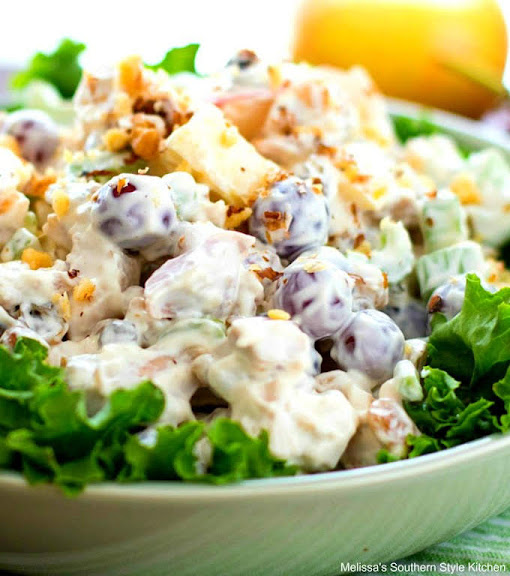 Waldorf Chicken Salad | Photo Courtesy of Melissa's Southern Style Kitchen