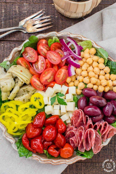 Italian Antipasto Salad | Photo Courtesy of Cooking on the Front Burner