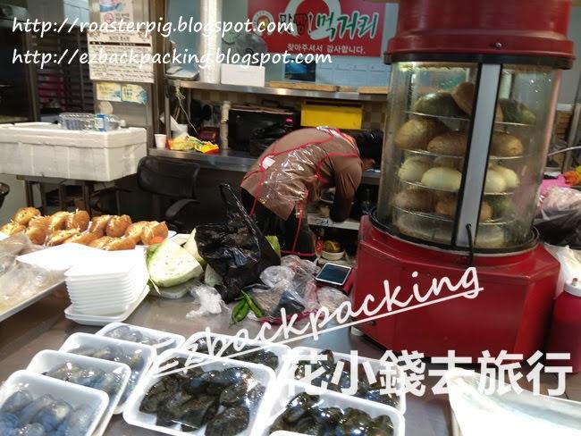 西歸浦傳統市場傳統韓國糕餅店