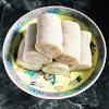 banana mochi, banana roll, chinese, hong kong, recipe, 香蕉卷, 香蕉糕