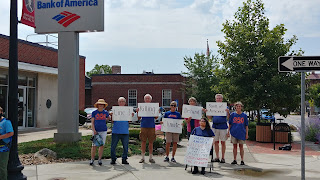 Climate Action Held in Franklin, July 17