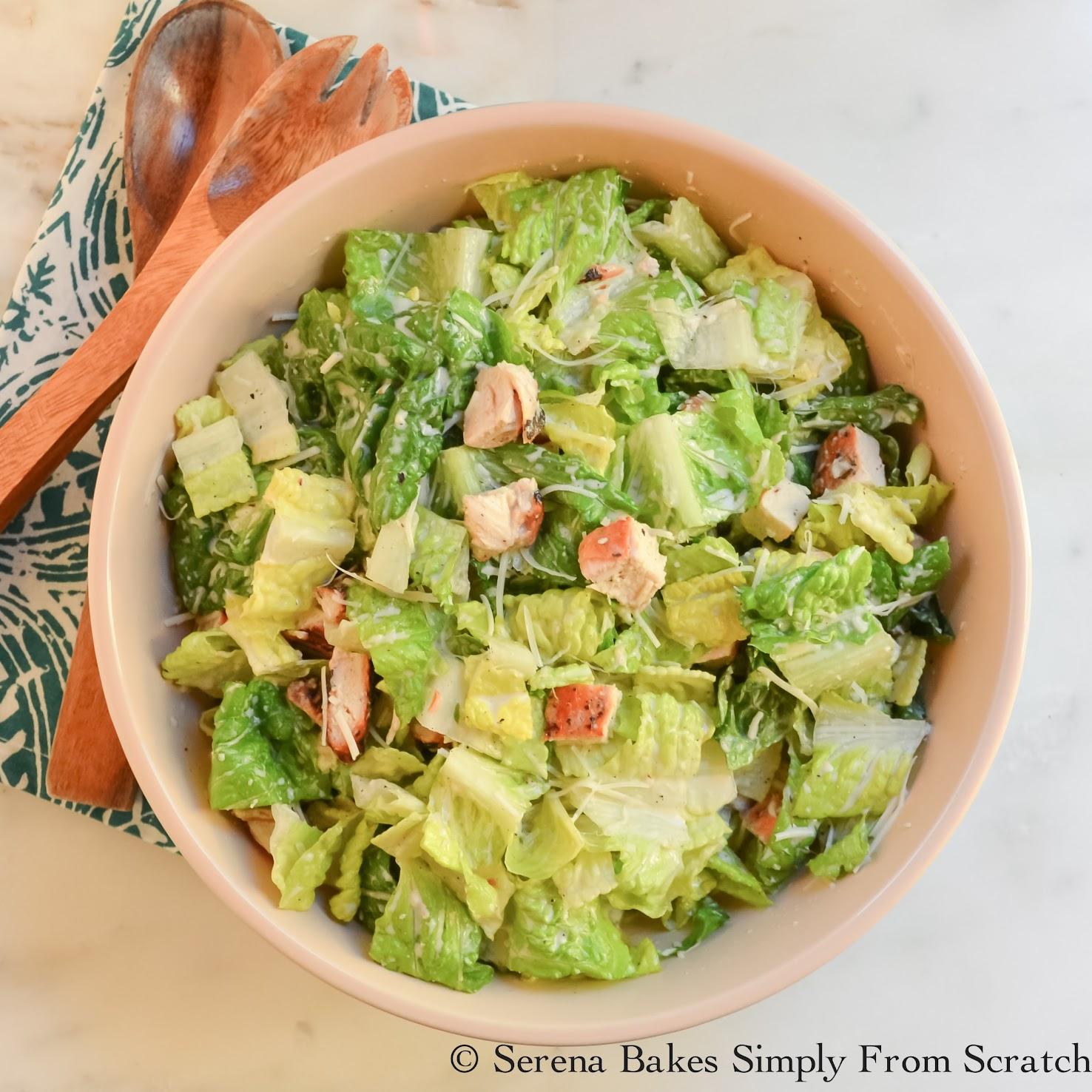 Healthier Caesar Salad Dressing
