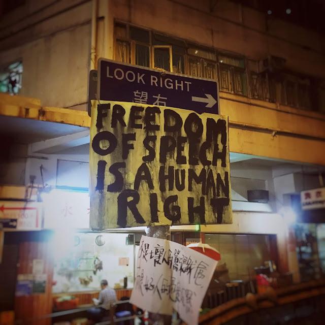 Protest Signs, Hong Kong,  香港, 抗議, 牌子