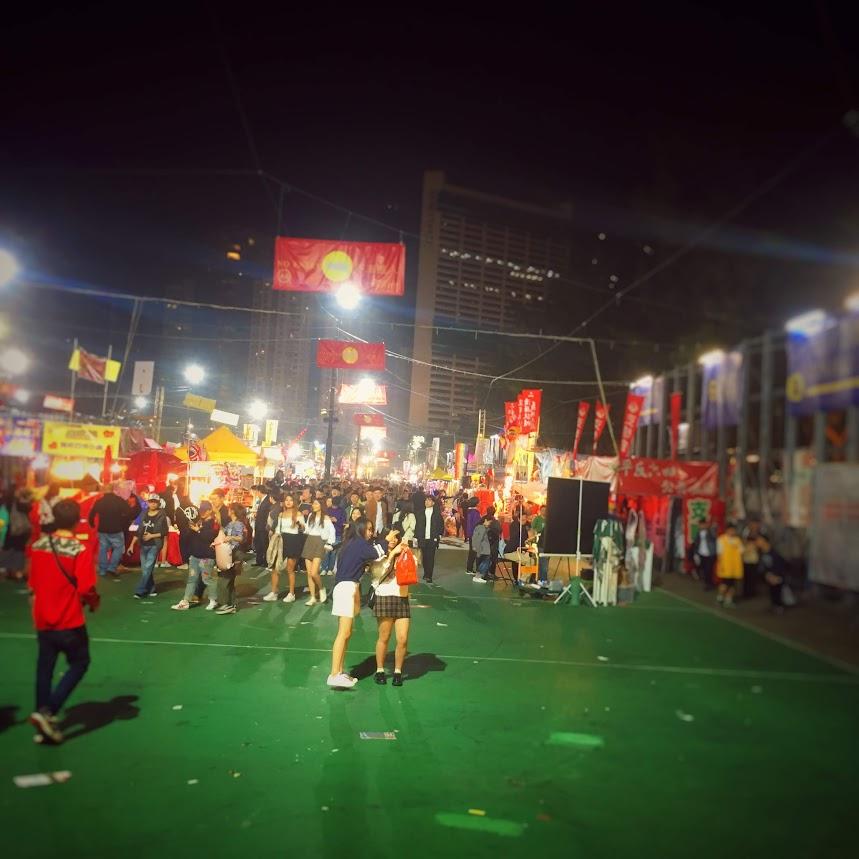 Chinese New Year Fair, causeway bay, hong kong, flower market, lunar new year fair, 年宵市場, 花市