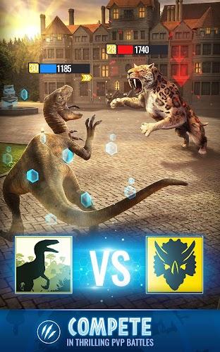 Jurassic World Alive Screenshot 03