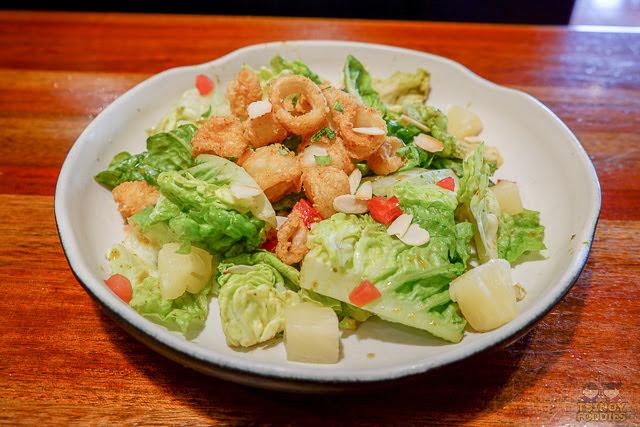 calypso calamari salad