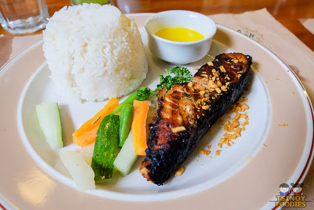 grilled tanigue