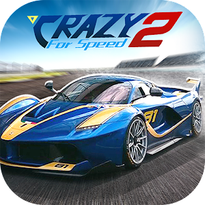 Crazy For Speed 2 V3.2.3993 MOD + Apk Unlimited Money Coins Nitro For Android