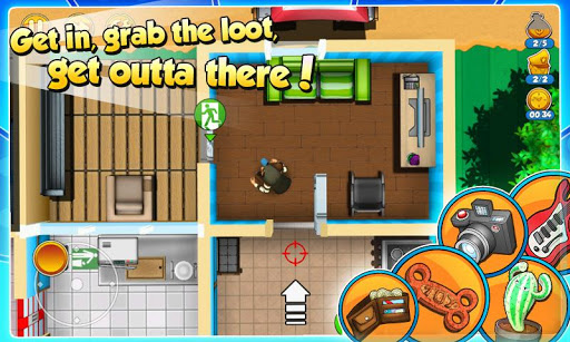Robbery Bob 2 Double Trouble Mod Full Tiền Vàng Cho Android