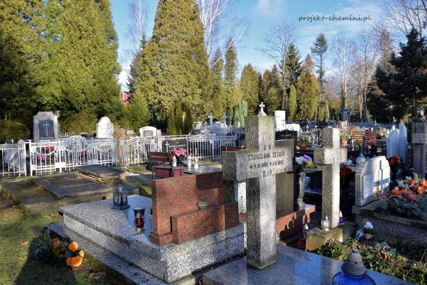 Cmentarz parafialny, ul. Jagiellońska