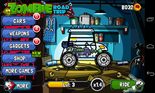 Game Zombie Road Trip Hack