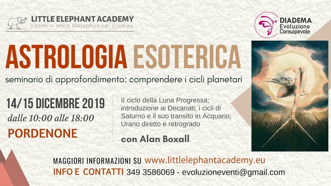 seminario di Astrologia Esoterica