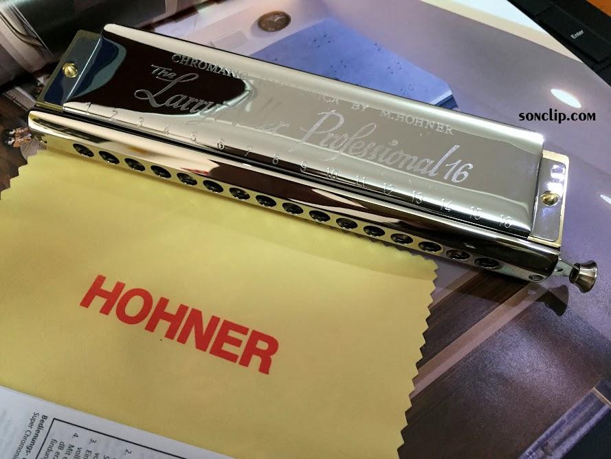 Kèn Harmonica - Hohner Lary Adler 64