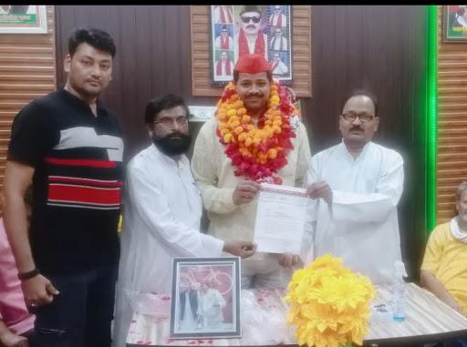 मोहम्मदअकील खान को समाजवादी पार्टी अल्पसंख्यक सभा का सचिव किया गया मनोनीत