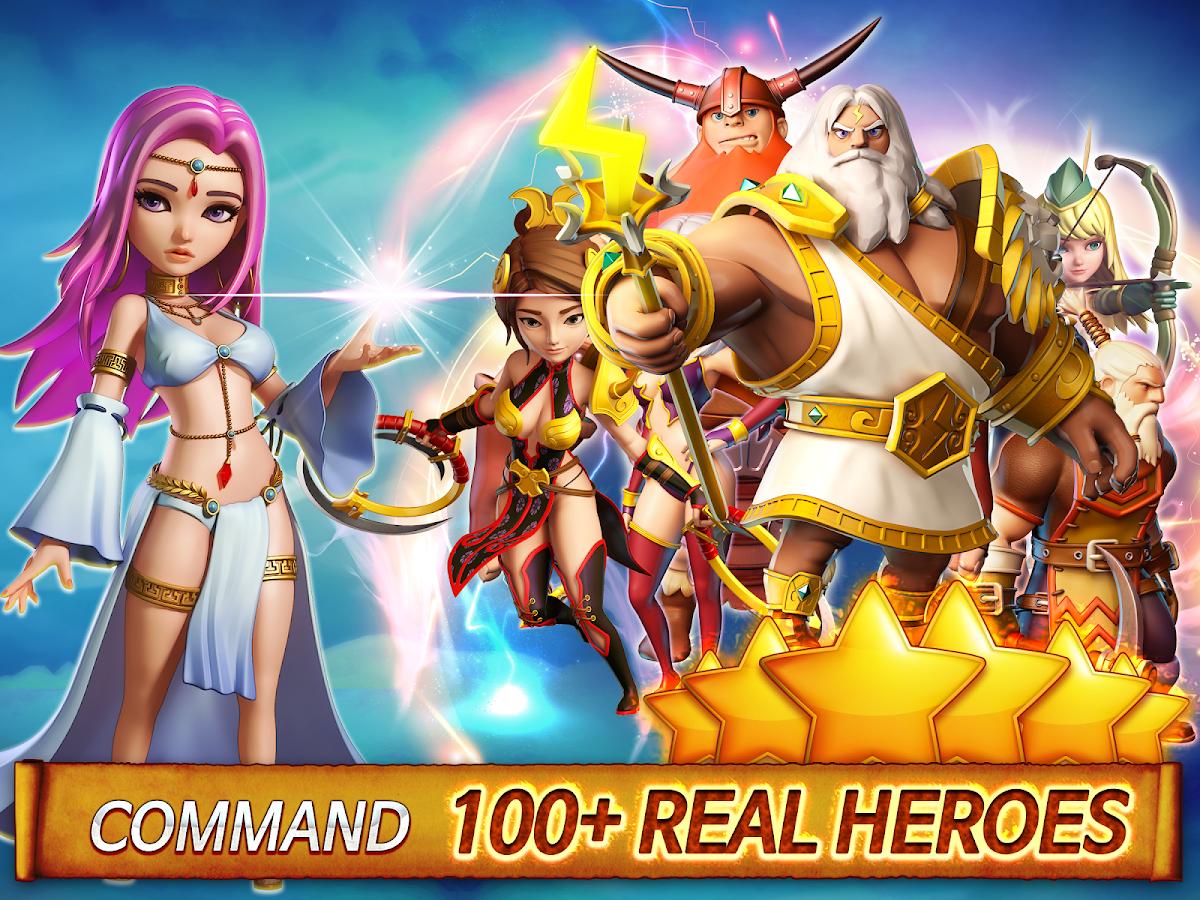 DroidPrefer | ชื่อนี้การันตีแอพดี: [Free] โหลด Hero Sky: Epic Guild