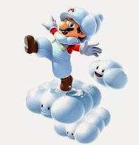 12 Kostum Aneh Mario Bros